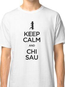 Keep Calm and Chi Sau (Wing Chun) - Dark Classic T-Shirt