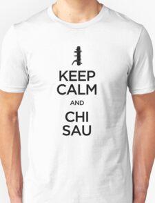 Keep Calm and Chi Sau (Wing Chun) - Dark T-Shirt