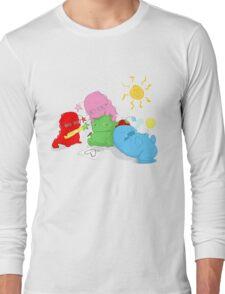 Dinostars - Ending Summer Long Sleeve T-Shirt