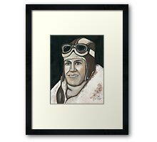 Old Pilots Never Die They Just Buzz Off Framed Print