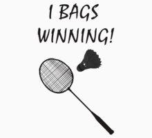 I Bags Winning! - Badminton by Brother-Rhogar