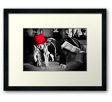 Red Hat by Aquinas Framed Print