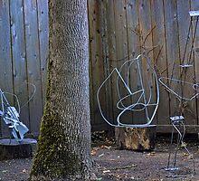 welded steel, summer 2012 by Matt Goldberg