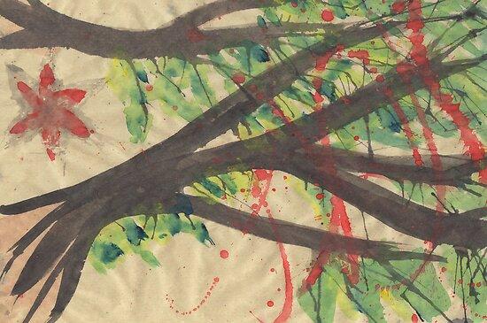 Splatter Blossoms by Sammyzilla