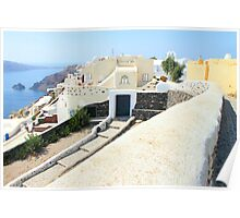 Oia Village, Santorini Poster