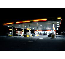 The Fill up. Photographic Print