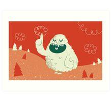 the Wise Monster Art Print