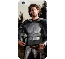 A knight in shining armour  iPhone Case/Skin