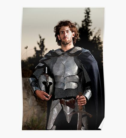 A knight in shining armour  Poster