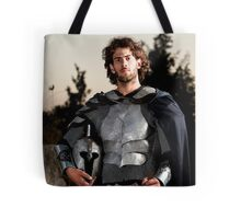 A knight in shining armour  Tote Bag