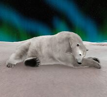 Polar Bear Resting by Vac1