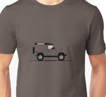A Graphical Interpretation of the Land Rover Defender 90 Hard Top Unisex T-Shirt