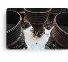Saturn V engines Canvas Print