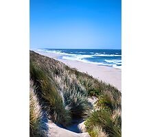 Furry Sand Dunes Photographic Print
