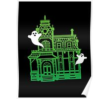 Haunted Victorian House Poster