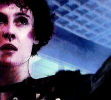 """Sigourney Weaver. In the movie """"Aliens""""  Sticker"""