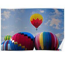 Air Balloon Festival Poster
