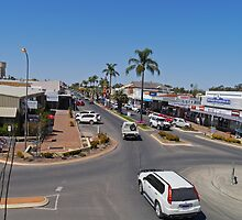 Marshall Street, Goondiwindi, Queensland, Australia by Margaret  Hyde
