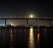 Coronado Bridge, San Diego, California. by Graham Gilmore