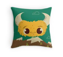 the Lost Monster Throw Pillow