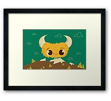 the Lost Monster Framed Print