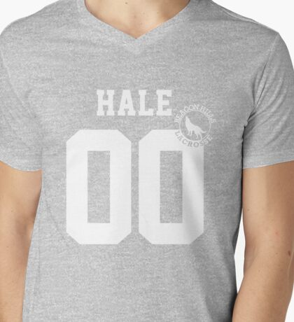 "Teen Wolf - ""HALE 00"" Lacrosse  Mens V-Neck T-Shirt"