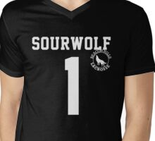 "Teen Wolf ""SOURWOLF 1"" Lacrosse Mens V-Neck T-Shirt"