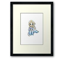 The White Whitch - Emma Frost Framed Print