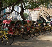 Rickshaws by Paris Franz