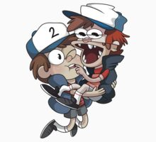 Gravity Falls - Tyrone+PJ by JimHiro