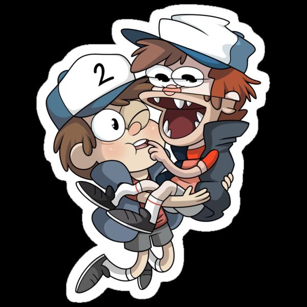 Gravity Falls - Tyrone+PJ by JimHiro