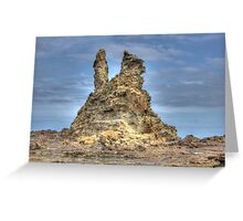 Spectacular Eagles Nest - Inverloch HDR Series Greeting Card
