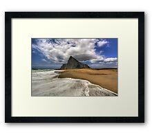 Lavante Over Gibraltar Framed Print