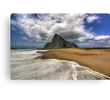 Lavante Over Gibraltar Canvas Print