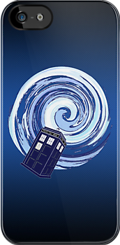 Tardis Time Vortex by ixrid