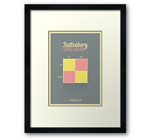 Battenberg Carroll Diagram Framed Print
