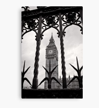 Keeping good time - Big Ben  - London - Britain Canvas Print