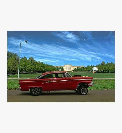1956 Ford Pro Street Photographic Print