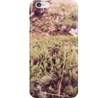 our feet planted on this earth iPhone Case/Skin
