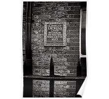 Charles Dickens lived here - Britain Poster