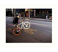 Street Bikes Art Print