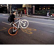 Street Bikes Photographic Print
