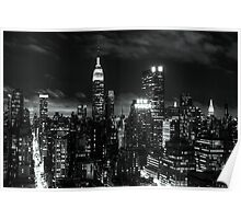 Monochrome City Poster