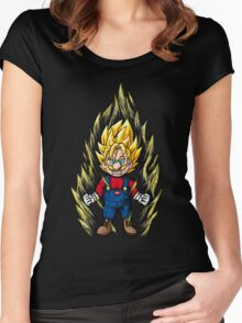 Super Mario Z Women's Fitted Scoop T-Shirt