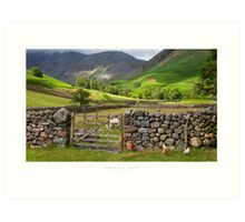 Wasdale Head, Cumbria Art Print