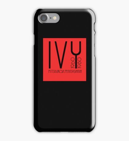 iPhone cover - Red Square by Dale Schmit iPhone Case/Skin