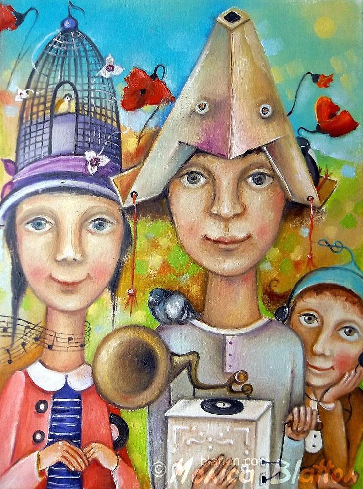 Melomans by Monica Blatton