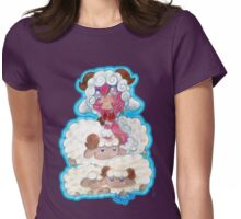 Shepherd of the Sheep  Womens Fitted T-Shirt