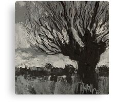 Knotwilg - Willow Tree Painting Canvas Print