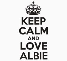 Keep Calm and Love ALBIE Kids Clothes